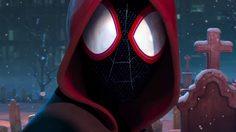 ไมล์ส โมเรลส์ ใส่ชุดสไปเดอร์แมนยิงใยไต่ตึก ในตัวอย่างแรก Spider-Man: Into the Spider-verse