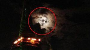 ตื่นตา! พระจันทร์ส่องแสงคล้ายพระบรมสาทิสลักษณ์ ในหลวงรัชกาลที่ 9