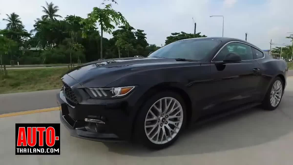Testdrive Ford Mustang 2.3 Ecoboost