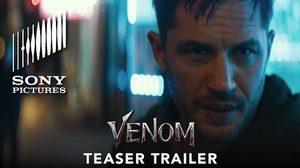 ทอม ฮาร์ดี บ้าคลั่ง ในตัวอย่างแรก Venom