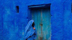 หมู่บ้านสีฟ้า ป้องกันยุง ที่โมร็อกโก