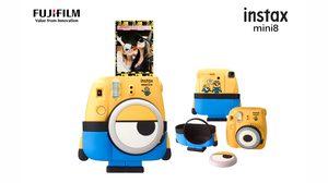 Fujifilm เผยโฉมกล้อง instax mini8 Minion limited edition น่ารักสุดๆ เอาใจสาวกมินเนี่ยน