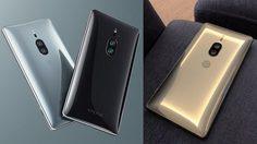 หลุดภาพ Sony Xperia XZ2 Premium มาพร้อมสีใหม่!! สีทอง Chorm Gold
