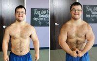 คนจริง หนุ่มดาวน์ซินโดรมประกวดเพาะกาย หลังฝึกตัวเองเป็นปี