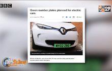 อังกฤษเตรียมใช้ป้ายทะเบียนเขียวกับรถยนต์ไฟฟ้า