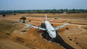 Boeing 747 Ruin Becomes a New Tourist Spot in Korat