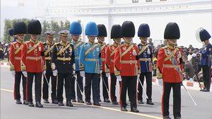 ทหารในงานพระราชพิธี แต่ละเครื่องแบบมาจากหน่วยงานไหนกันบ้าง??