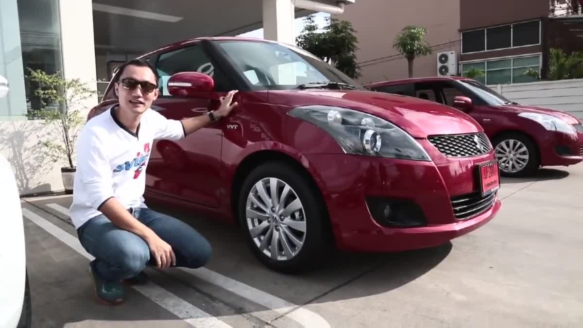 [Test Drive] 2014 Suzuki Swift RX เติมหล่อให้ ผู้นำอีโค คาร์ ด้านคุณภาพการขับ