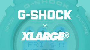 X-LARGE x G-SHOCK เปิดตัวนาฬิการุ่นพิเศษ GD-X6900 สียอดฮิต Tiffany Blue