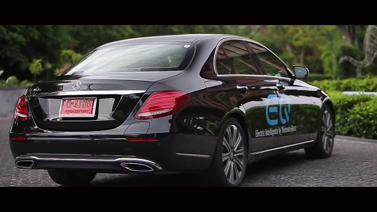 [TH Sub] Mercedes-Benz EQ Caravan to Yaowawit school for CSR event