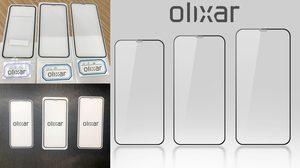 รีบเกิน!! Olixar เผยภาพฟิล์มกันรอย iPhone 2018 ทั้ง 3 รุ่น
