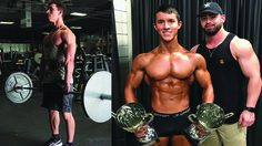 โอย… ใหญ่เกินเด็ก หนุ่มวัย 17 คว้าแชมป์เพาะกายระดับสากล!