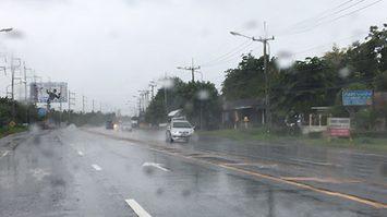 ทั่วไทยฝนลดลง ยกเว้นภาคเหนือ-อีสานตกหนัก กทม.ร้อยละ 30 ของพื้นที่