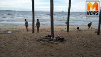 ทนดูไม่ไหว! นักท่องเที่ยวต่างชาติ ร่วมใจเก็บขยะริมหาดจอมเทียน