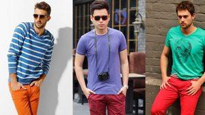 เทคนิคการแมทช์เสื้อผ้าสี ใส่เสื้อสีเขียวกับกางเกงสีแดงยังไงไม่ดูตุ๊ด!!!