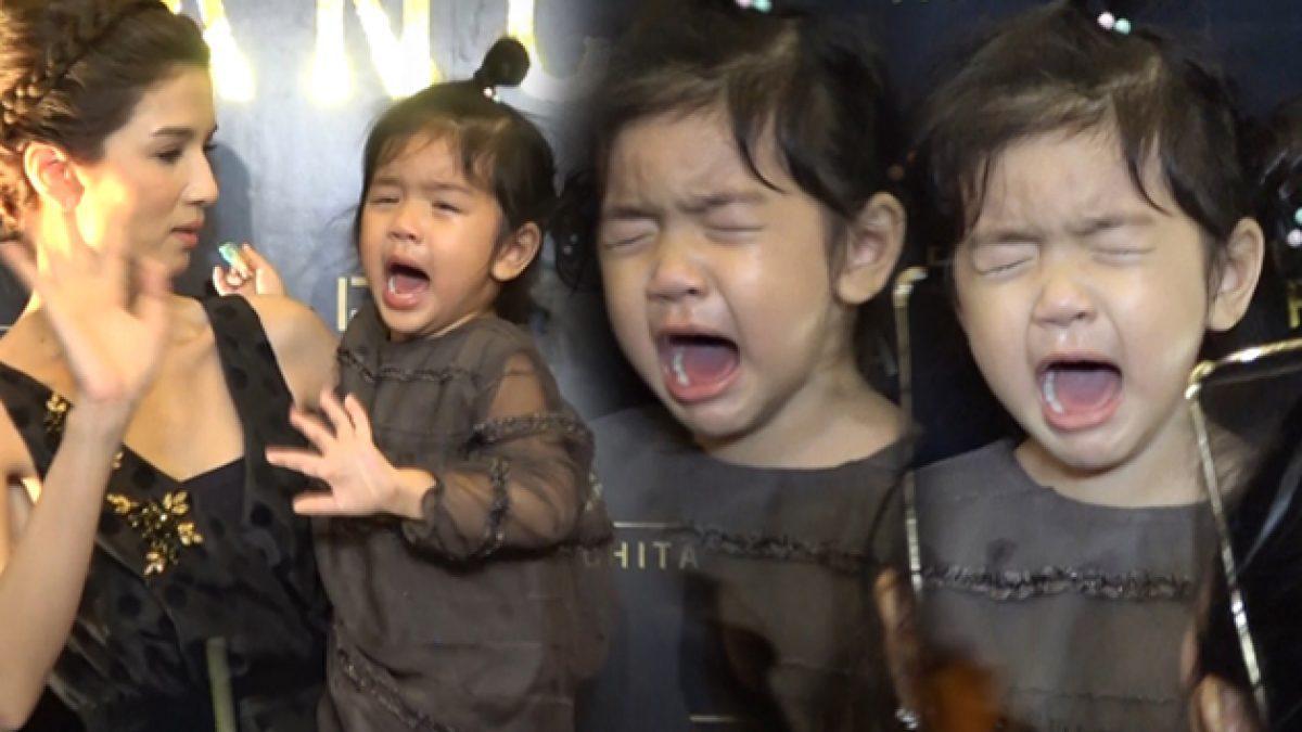 วงแตก! น้องมะลิ ร้องไห้โฮหา แม่โบว์  อยากเล่นสไลเดอร์