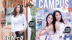 รวมภาพแฟชั่นหน้าปก นิตยสาร แคมปัส สตาร์ ปี 2018 | Campus Star Cover