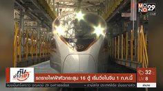 รถรางไฟฟ้าหัวกระสุน เตรียมเริ่มวิ่งในจีน 1 ก.ค.นี้
