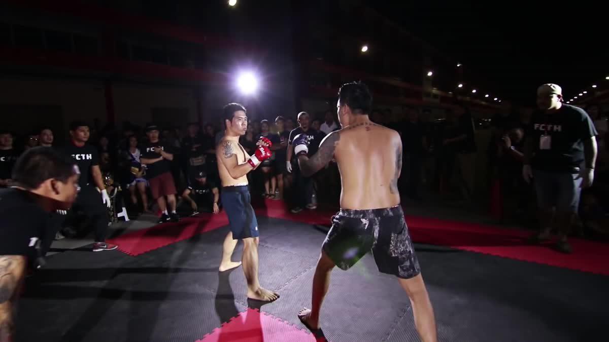 Fight Club Thailand วันสำคัญ พี่ฉลาม x ยศ สายตำรวจ คู่ที่ 143