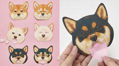 ดีไซน์น่ารัก กระดาษซับมันชิบะอินุของญี่ปุ่น ต้อนรับปีสุนัข