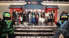 บอย ปกรณ์ แปลงร่างเป็นนินจาหนุ่มสุดเท่ นำทีมนินจาตัวจิ๋วมาปล่อยพลังความสนุก ในงาน The LEGO Ninjago Movie
