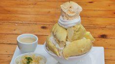ร้อนๆ แบบนี้ต้องบิงซูทุเรียน ที่ร้าน Bell The Cat – Milk & Dessert Cafe