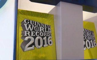 กินเนสส์เปิดตัวหนังสือเล่มใหม่ ปี 2016