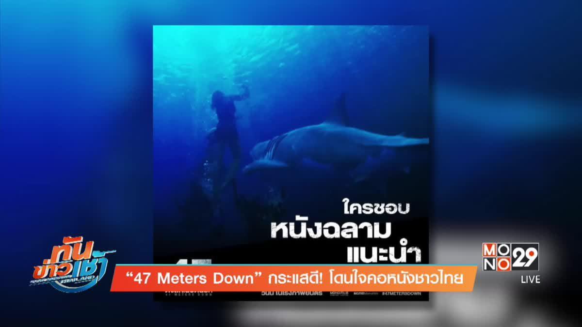 """""""47 Meters Down"""" กระแสดี! โดนใจคอหนังชาวไทย"""
