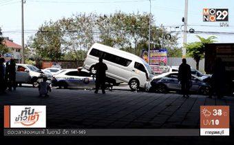 """""""สืบศักดิ์"""" อดีตนักตะกร้อทีมชาติไทยประสบอุบัติเหตุรถชน"""