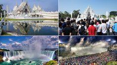 14 ภาพ สถานที่ท่องเที่ยวชื่อดัง เมื่อสิ่งที่ฝัน สวนทางกับ ความเป็นจริง
