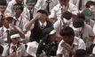เด็กทำอินเดียทำสถิติแปรงฟันหมู่มากที่สุดในโลก