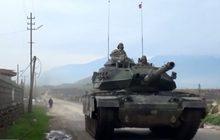 ตุรกีส่งทัพบกกวาดล้างกลุ่มติดอาวุธชาวเคิร์ดในซีเรีย