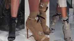 จับคู่ให้ดี ไอเดียแมทช์ถุงเท้า กับรองเท้าส้นสูง ใส่แล้วน่ารักเว่อร์