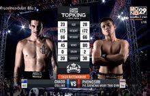 คู่ที่ 5 Superfight พงษ์ศิริ พี.เค.แสนชัยมวยไทยยิม VS ชาดด์ คอลลินส์
