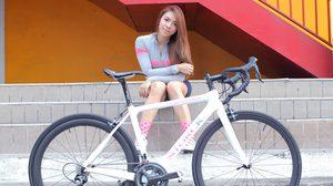 เดียร์ สวลี รัตนมารค สาวสวยผู้หลงใหลในบรรยากาศของการปั่นจักรยานอย่างที่สุด