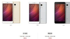 Xiaomi Redmi Note 4 เตรียมวางจำหน่ายอย่างเป็นทางการแล้ว