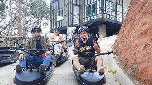 ไถลลงเนินสุดเสียว! เครื่องเล่น Luge เชียงใหม่ ทางยาวที่สุดในประเทศไทย