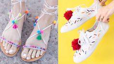 ไอเดีย DIY รองเท้าน่ารักสุดชิค ไม่เหมือนใครและมีคู่เดียวในโลก