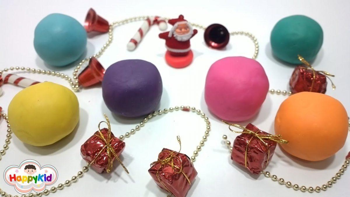 แป้งโดว์สโนว์บอลเซอร์ไพรส์ | เรียนรู้สี | Learn Colors With Snowball Play-Doh