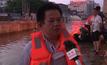 เจ้าหน้าที่จีนระดมกำลังช่วยเหตุน้ำท่วม