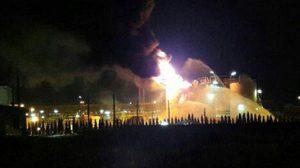 โรงงานสารเคมีระยองไฟไหม้ คุมสถานการณ์ได้แล้ว เร่งตรวจสอบผลกระทบ