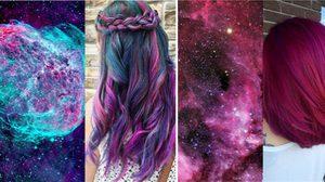 สวยล้ำข้ามอวกาศ! Galaxy Hair เทรนด์สีผม สวยแซ่บ เจ็บจี๊ดโดนใจ