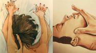 Frida Castelli ศิลปินลึกลับเจ้าของผลงานภาพวาดที่เร่าร้อนจนขนลุก