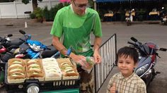 Dutch man and son rock the local with vegan burgers, Udon Thani