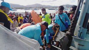 นักประดาน้ำนำเรือหลวงปันหยี ออกกู้ซากเรือฟินิกซ์ จมใต้ทะเล