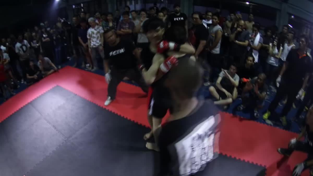 Fight Club Thailand ใต้ดิน เอ๋ ไฟลามทุ่ง x บอม สามารถน้อย คู่ที่ 112