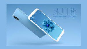 Xiaomi MI A2 เปิดตัวแล้ว มาพร้อมกล้องคู่พลัง AI จาก Sony ใช้ CPU Snap 660