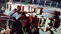 กระบะชนรถพ่วงที่สระบุรี เสียชีวิตยกครัว 4 ศพ