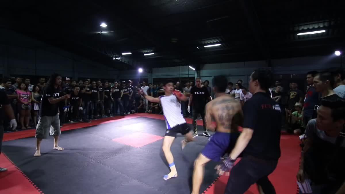 Fight Club Thailand ใต้ดิน ดาบจืด x แจ๊คบางกะปิ คู่ที่ 109