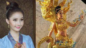 สวยตะลึง ชุดประจำชาติลาว เวที Miss International Queen 2016